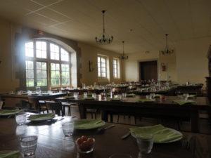 Grande salle de déjeuner - Château de la Flocellière