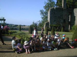 Séjour scolaire au Château de la Flocellière