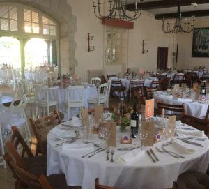 Salle réception mariage en Vendée, Château de la Flocellière