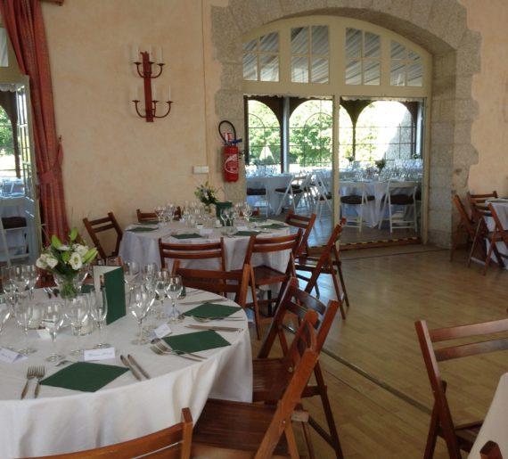 Réception mariage au Château de la Flocellière, Vendée
